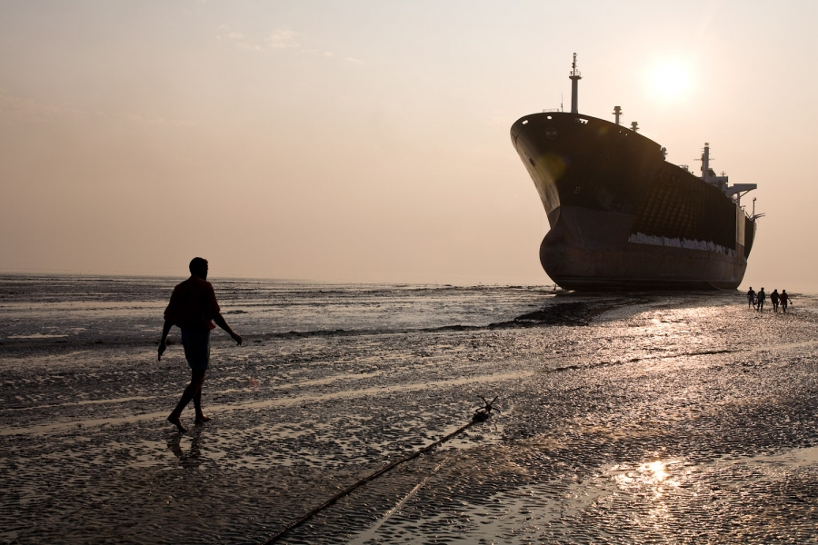 Chinese shipbreakers are heading for a another downturn
