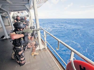 Shipboard armed guards face shrinking market as pirate attacks decline