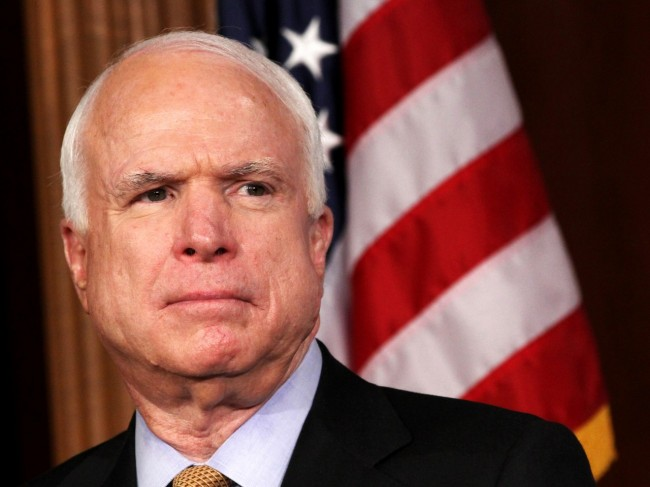 McCain to American Heritage Foundation: Jones Act does harm, not good