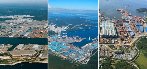 Korean yards escape low oil price impactin Shipbuilding
