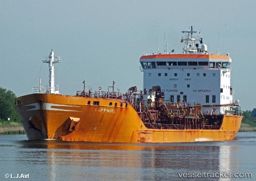 """Tanker """"Sapphire"""" twice in accidents due to rudder failures"""