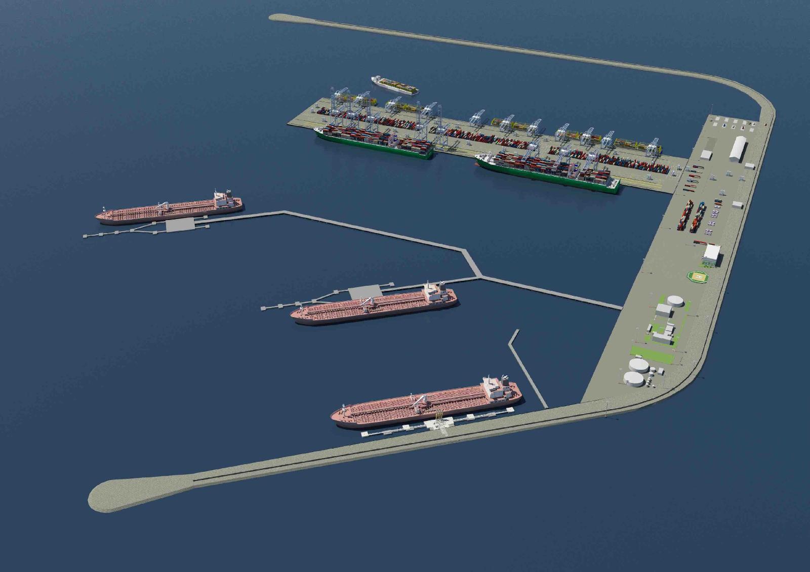 Royal HaskoningDHV master plan for Port of Venice extension presented