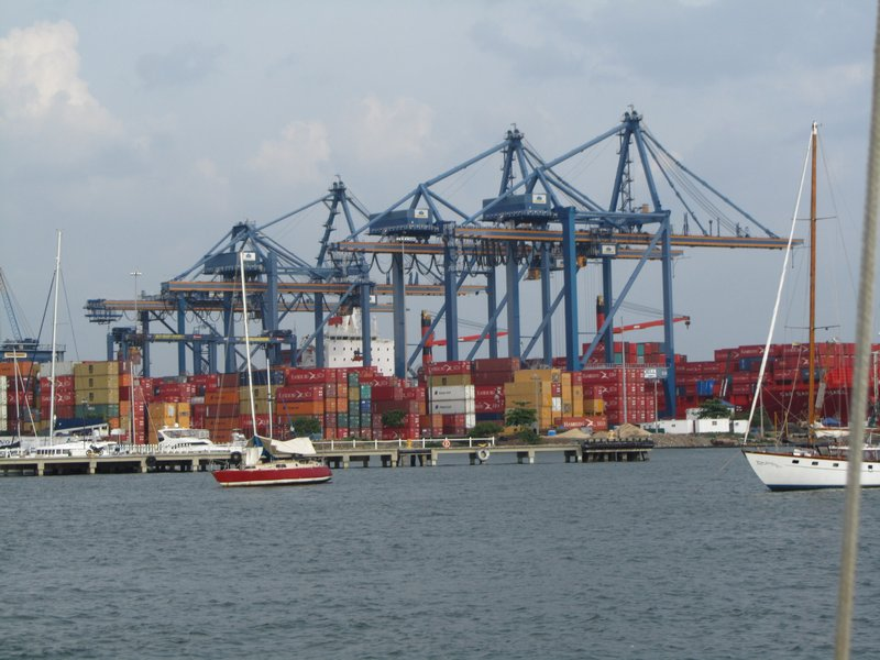 Colombia's Cartagena enjoys transshipment volumes as Caribbean hub