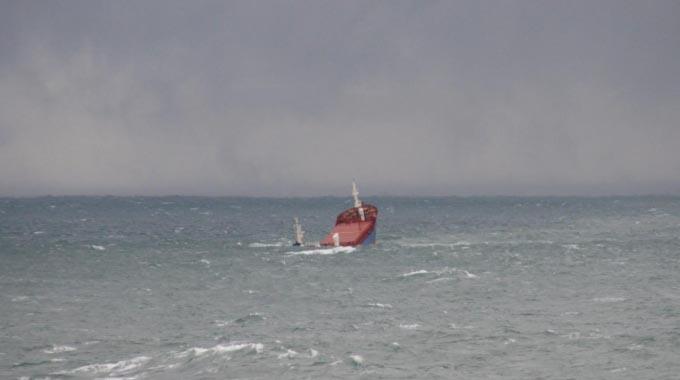 Video of the Turkish ship GOKBEL sinking