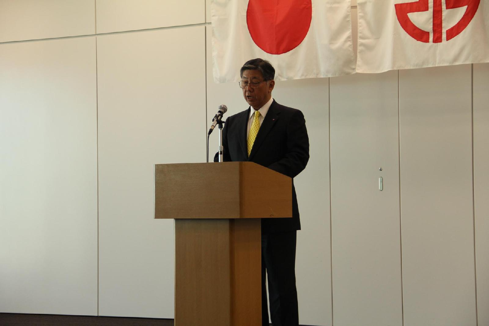 'K' Line boss' annual speech sees fewer hours and more regulatory compliance