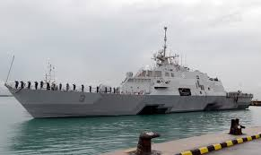 Littoral combat ship USS Fort Worth in Singapore for long stay