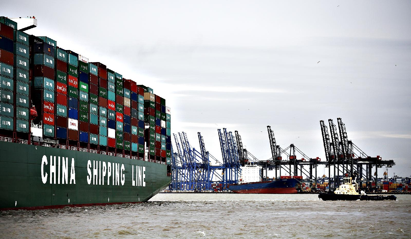 UK ports' container volume in 2016 increases 4pc to record 10.2 million TEU