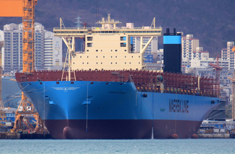First backhaul stop for Maersk's 18,300-TEU Marstal to be Tangier-Med