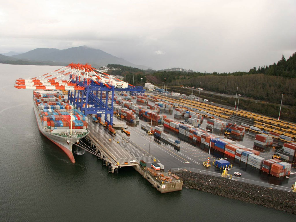 Prince Rupert volume up 15pc to 618,167 TEU in 2014, but non-box cargo slips