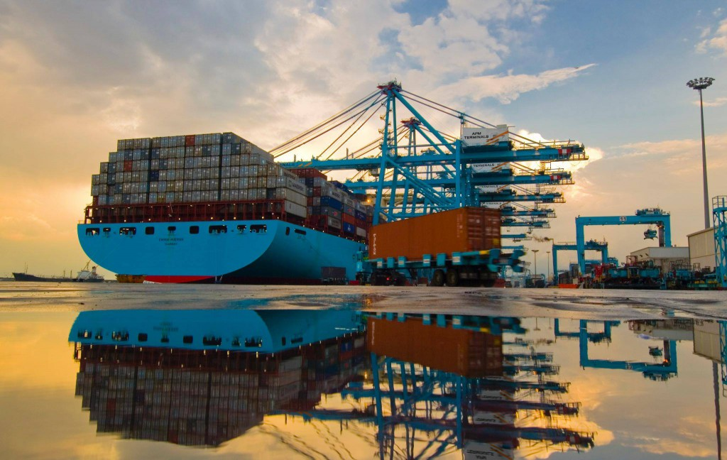 Maersk group's APMT adds 16 new RTGs at its Algeciras and Apapa terminals