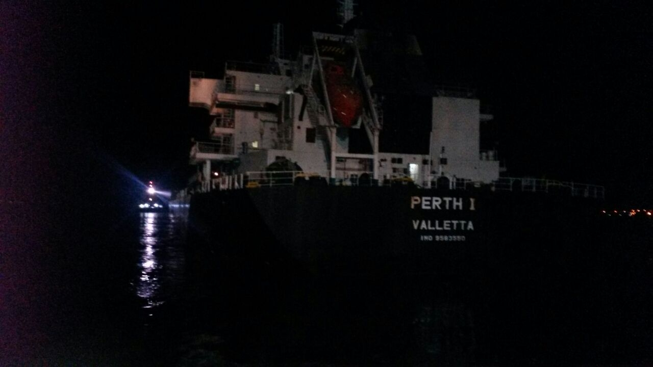 """Perth 1"" suffered Engine failure in Dardanelles"