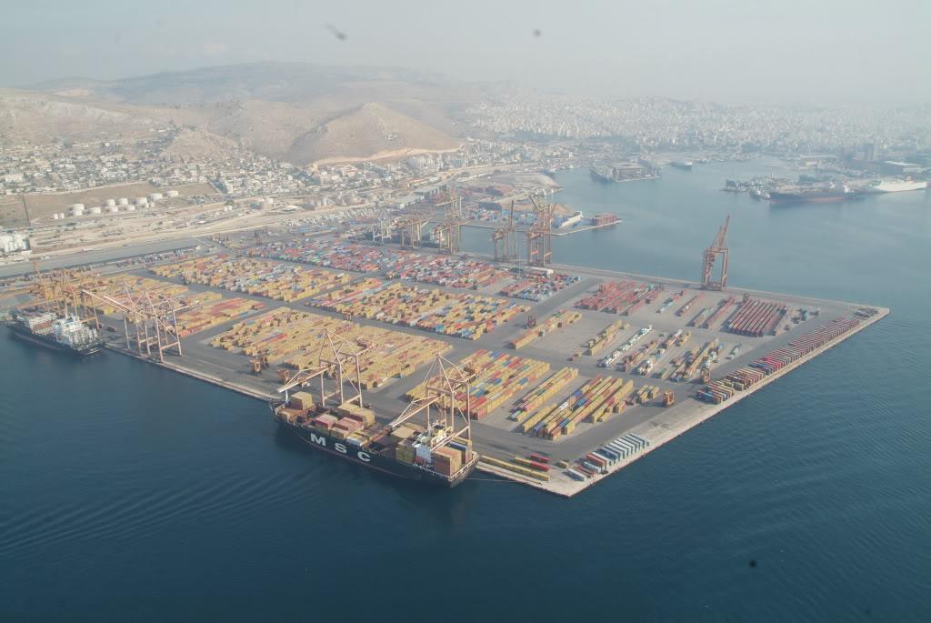Cosco Piraeus expansion underway as hostile Greek government takes helm