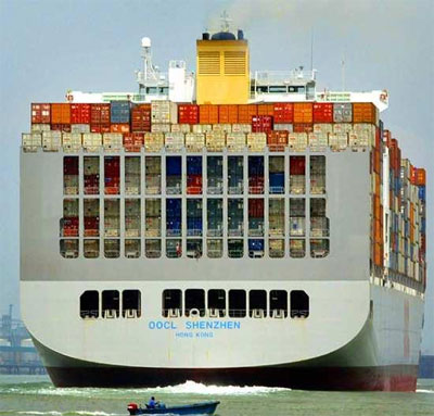 OOCL sales up 3.5pc to US$5.8 billion in '14 with less cash per box