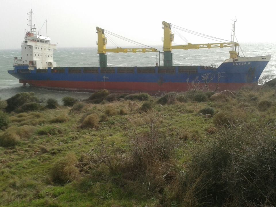 GOFER B drifted aground after lay up of 939 days