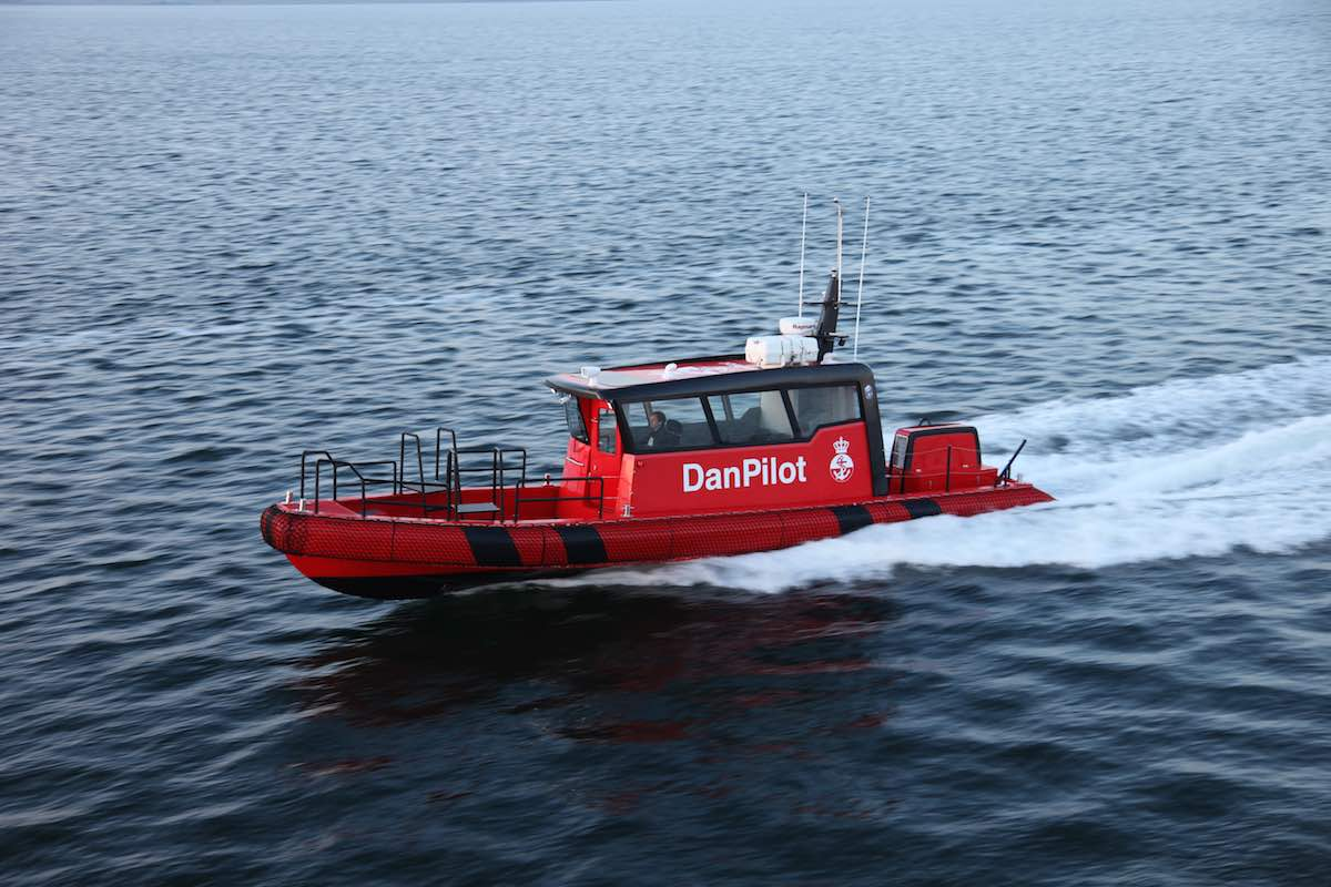 Tuco delivers the first ProZero 12m DC light Pilotboat to Sea Charter A/S.