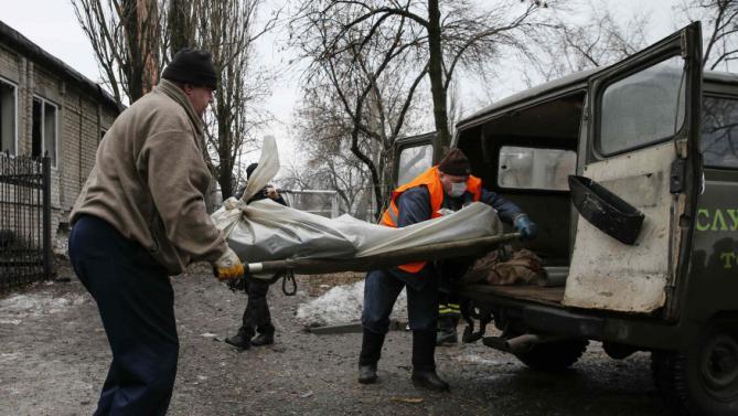 Russian-backed rebel rockets kill 30 Ukrainians in Sea of Azov port city