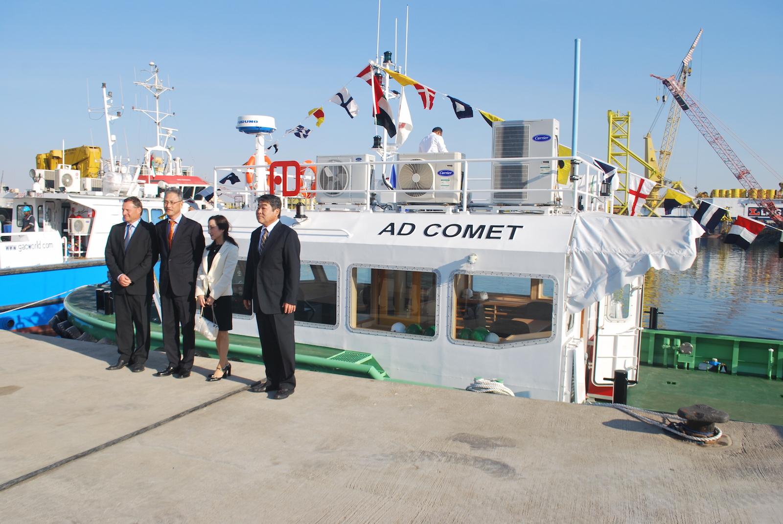 Mohamed Saqr Alfalahi takes delivery of Albwardy Marine 20m aluminum patrol vessel