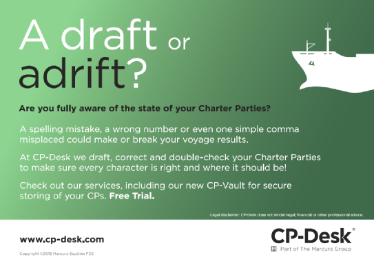 CP-Desk's charter party IT promises to trim time-consuming processes