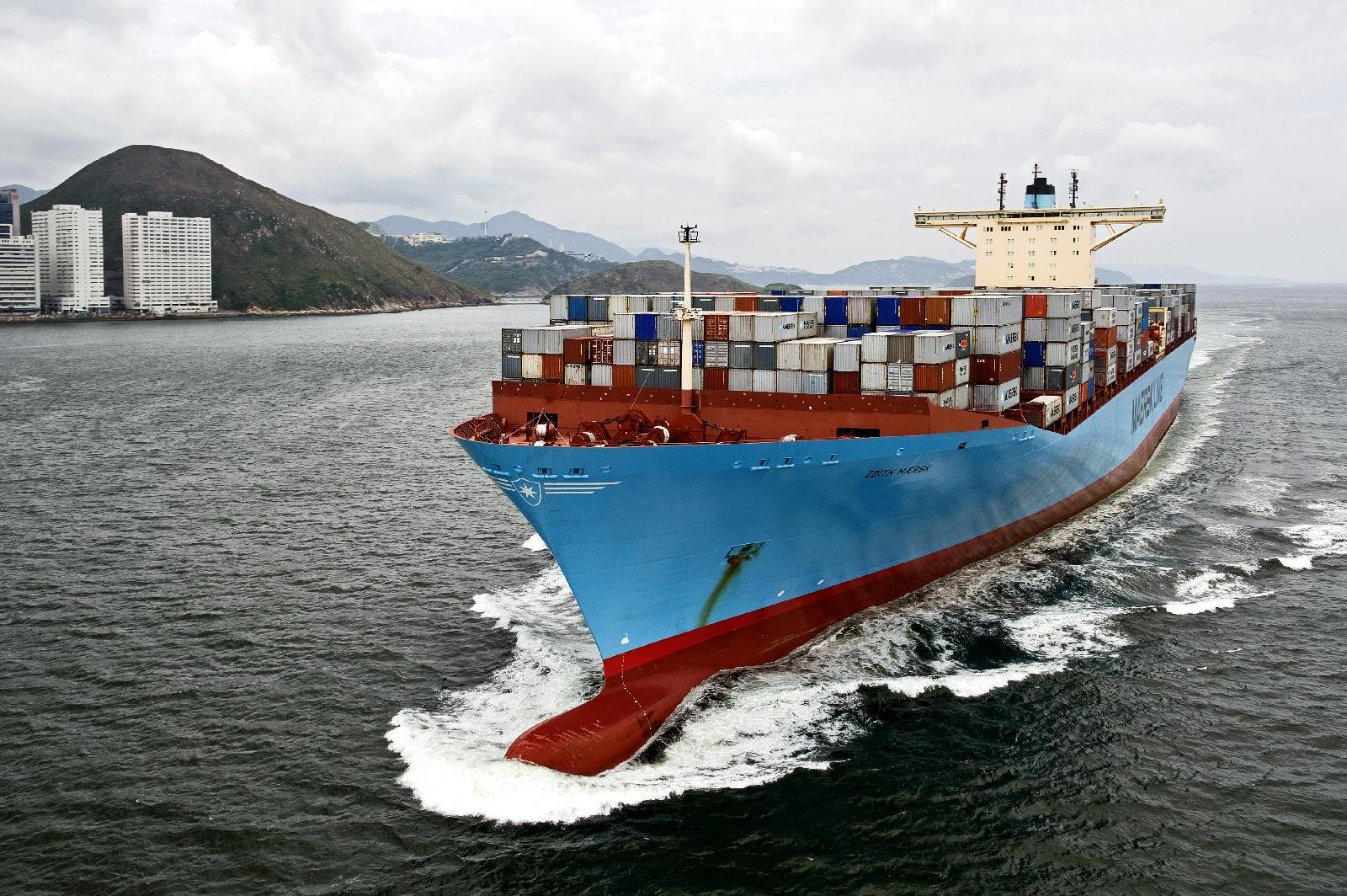 Maersk containership docks again at New Orleans with new 2M service