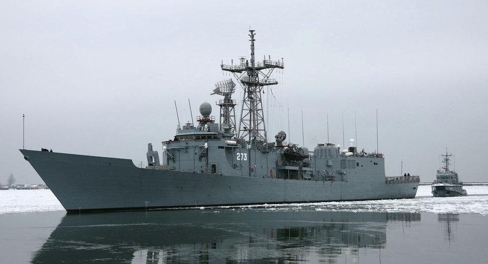 Two Polish Warships Collide in Baltic Sea