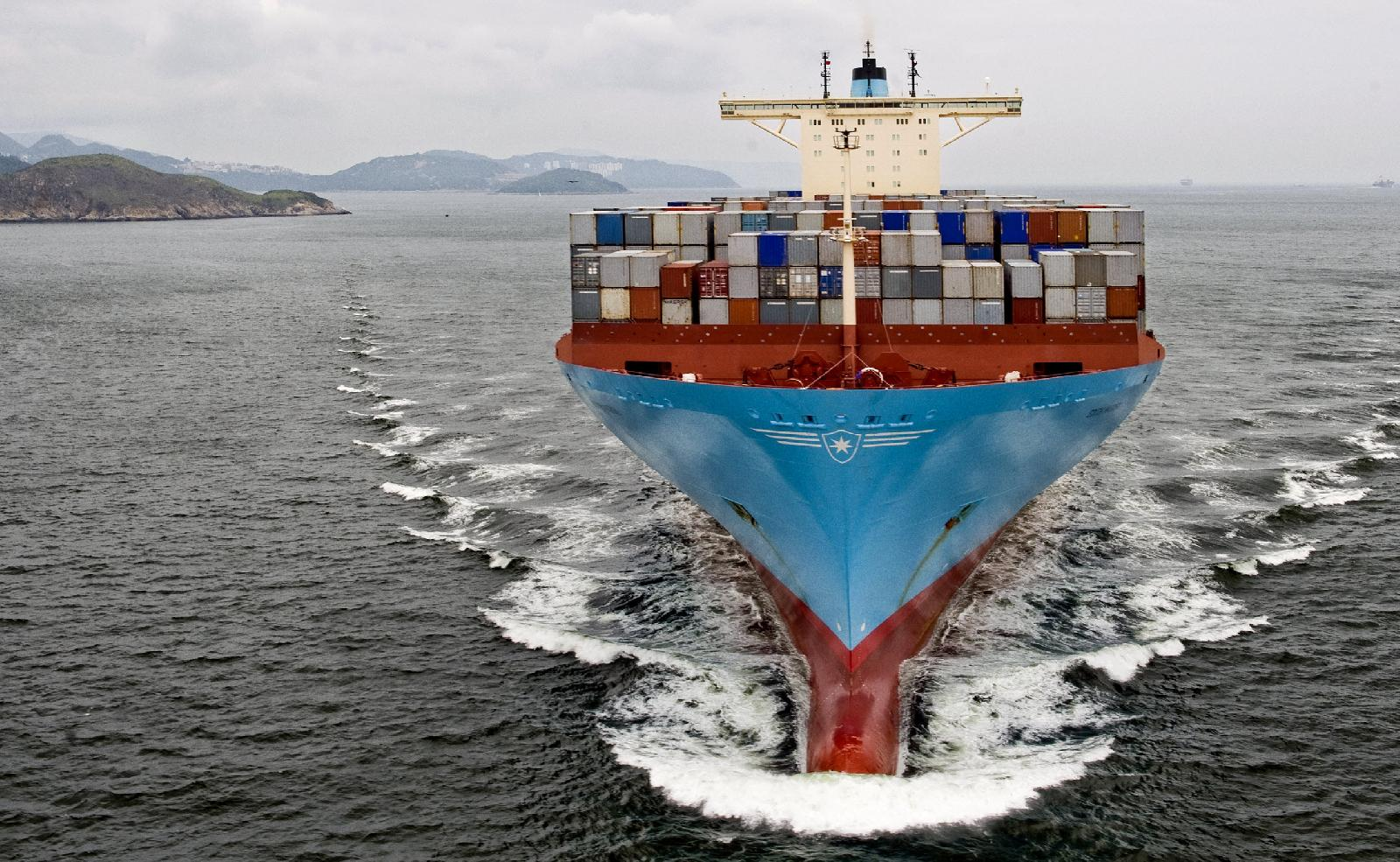 Maersk Line boxes deliver nearly half the profit for entire group