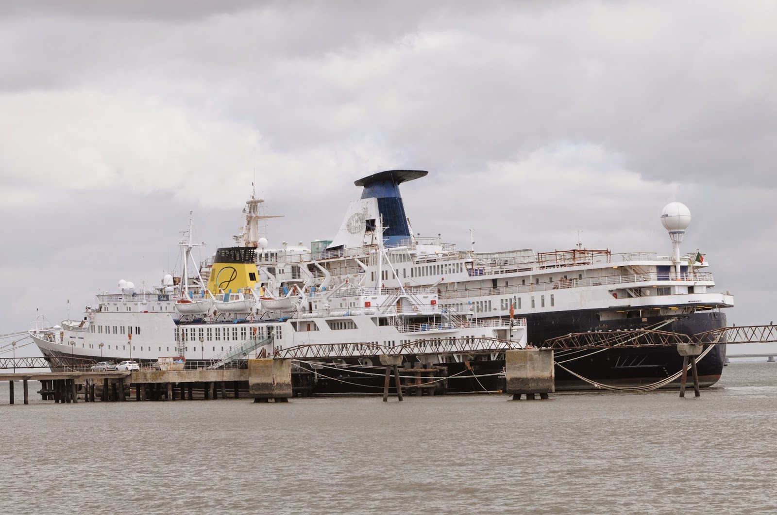 Cruiser M/S Lisboa to be dismantled in Turkey