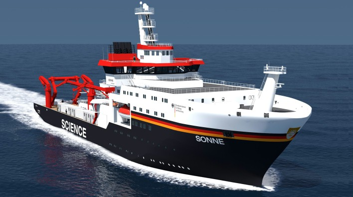 New German research vessel chooses Voyager navigation software