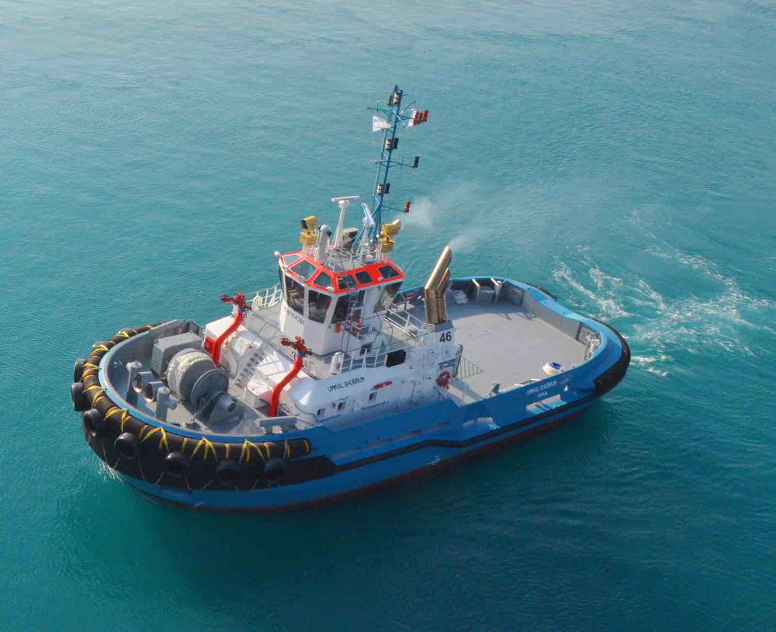 Nakilat Damen celebrates the delivery of two mooring tugs at Ras Laffan