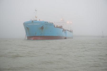 Conti Peridot ruptured tanks of Carla Maersk in collision