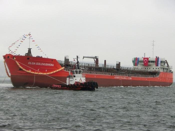 """Palmali's Armada Shipyard launches tanker """"Olga Golovushkina"""""""