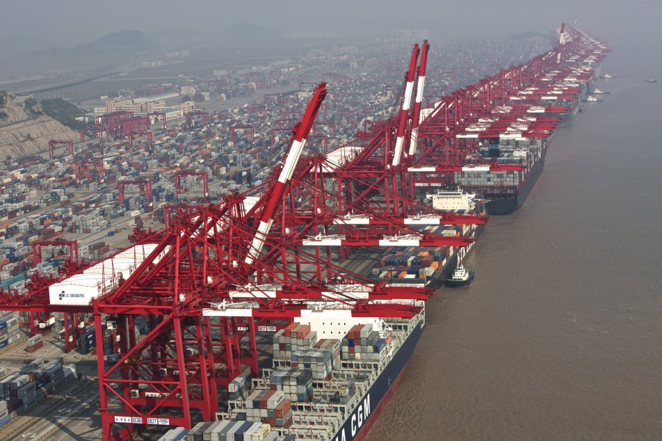 Shanghai February volume up 16.3pc to 2.57 million TEU