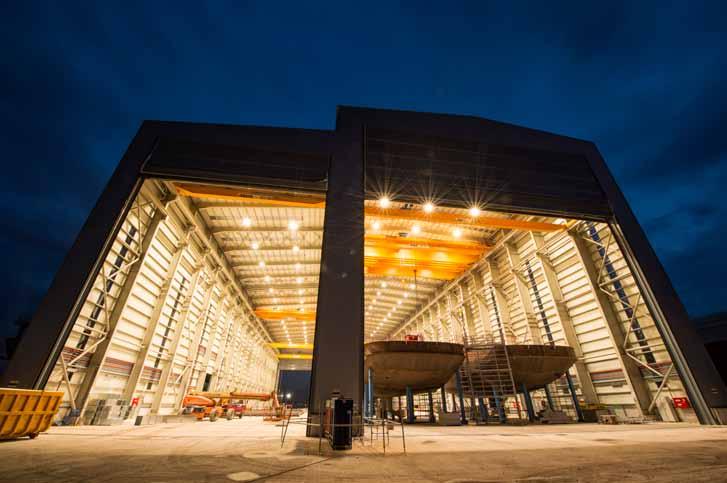 Turkey's Sanmar starts construction in its new shipyard in Altınova