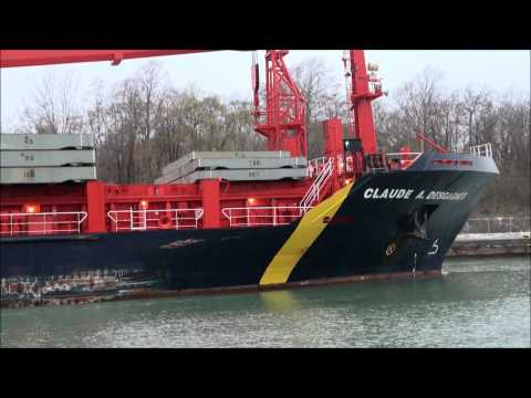 Master-pilot disagreement caused grounding in St. Lawrence seaway