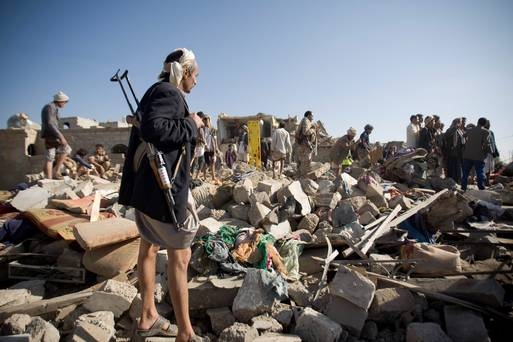 Yemen shuts major ports as Saudi tanks roll in attacking rebel positions