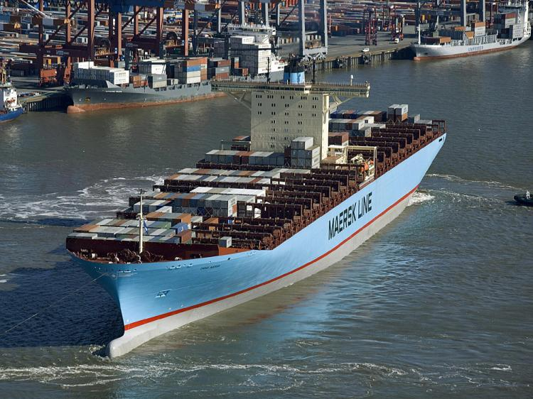 Maersk orders 7 ice-class 3,600 TEUers from Cosco yard in Zhoushan