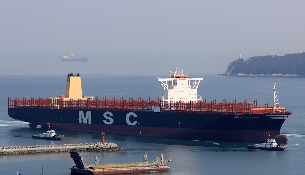 MSC takes delivery of second 19,224-TEU mega ship in Olympic Series