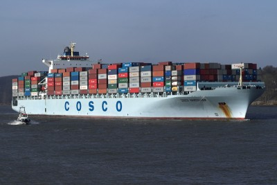 China Cosco to order ten 19,000-TEUers for US$1.4 billion in total: WSJ