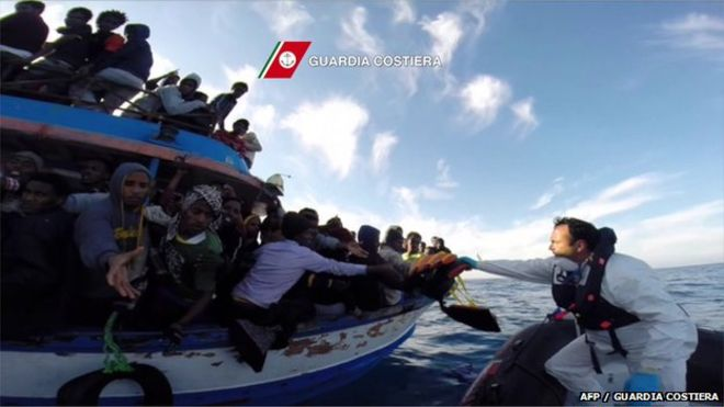 Four Hundred of Migrants Feared Drowned OFF Libyan Coast