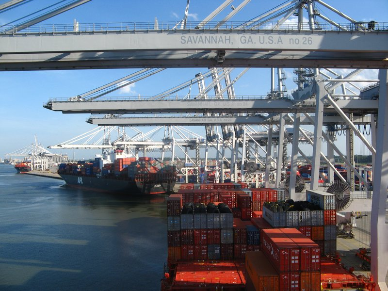 Savannah up 27.8pc in March to 333,058 TEU, breaks October record