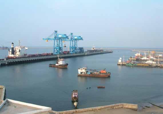 VTMS system installed at Kamarajar Port