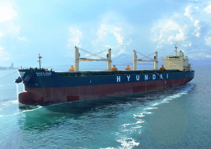 Hyundai Merchant Marine sells bulk shipping division