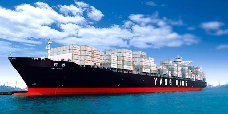 Yang Ming puts its first 14,000-TEUer into Asia-Europe service