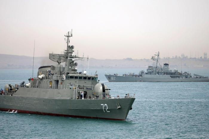 Saudi, Iranian warships off Yemen as food ships suffer weapon searches