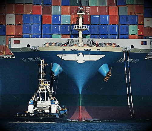 Eco lobbies claim new box ships are less fuel-efficient than old ones