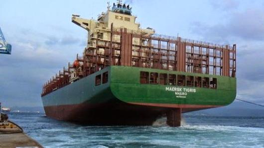 Rickmers Shipmanagement tells how Maersk Tigris was seized 'for inspection'