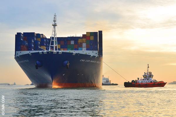 CMA CGM orders three 20,600-TEUers from Hanjin Heavy