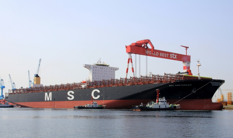 MSC takes in charge 15,905-TEU MSC Amsterdam chartered from Zodiac