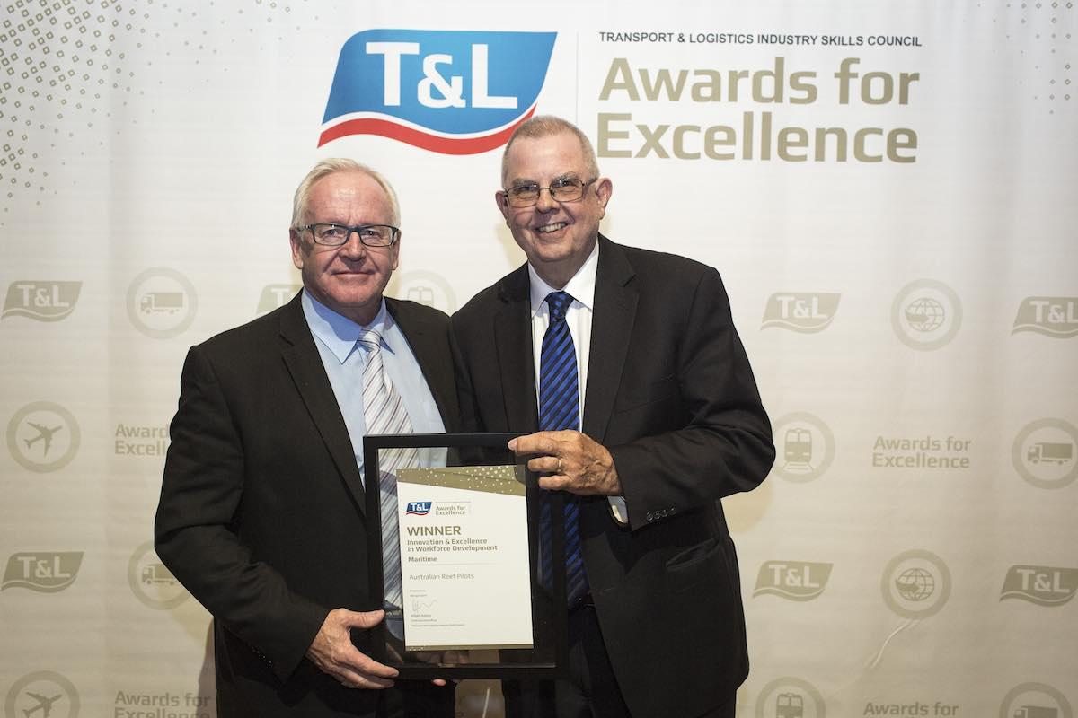 Reef Pilots win training award