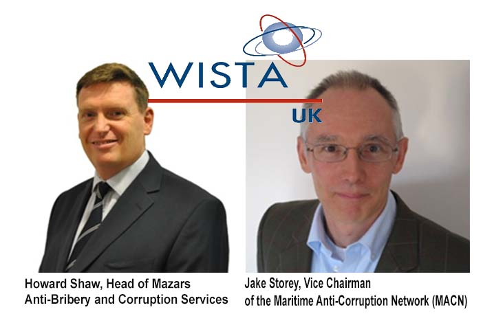 WISTA-UK aims to help combat corruption and bribery in the maritime industry