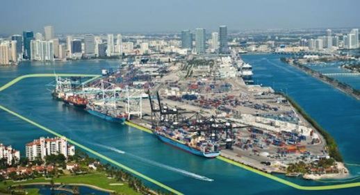 Container volume surges 18.5 pc to record 99,500 TEU at Port Miami